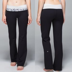Lululemon Astro Pant in Black and White